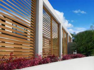Eurowood Aluminium Timber look Shutters
