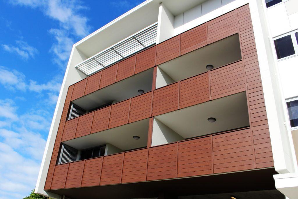 Eurowood Aluminium Wood Look Balcony Fence