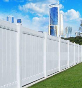 Modern Hamptons Style Fence