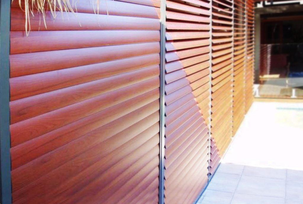 Aluminium Timber Shutters