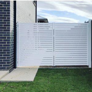Aluminium Hampton gate