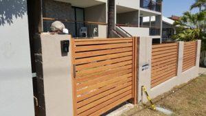 Aluminium Timber Gates