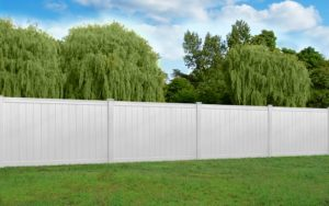 Hamptons style gate and fence