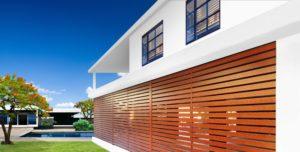 Eurowood Aluminium Timber Look Slat fencing