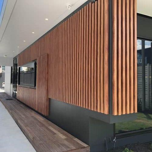 Eurowood Timber Look Aluminium Cladding New Pushloc System