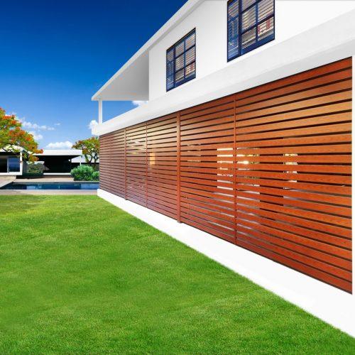 Eurowood Aluminum Timber Shutters, Modern shutters