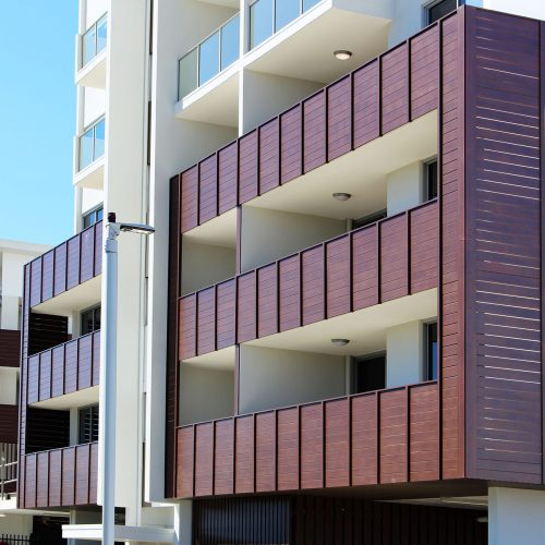 Eurowood Exterior Aluminium Balustrades and Cladding